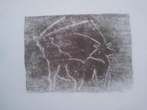 Un oryx à  la Barben